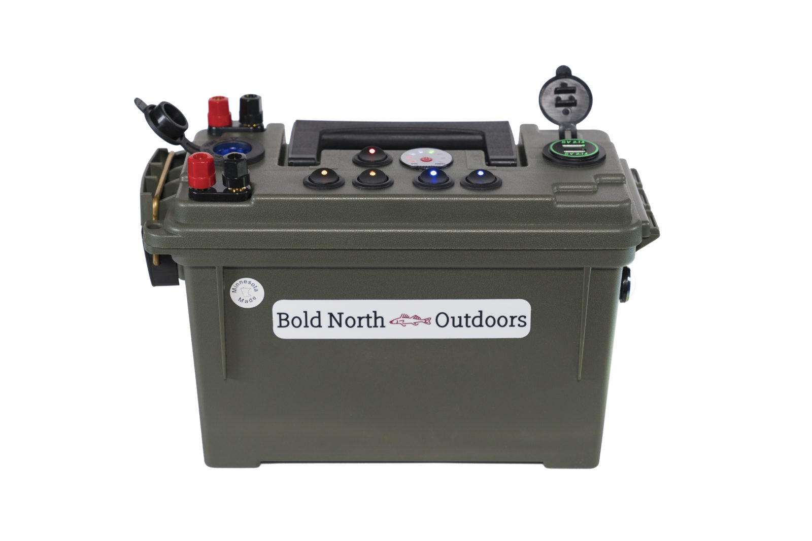 Bold North Outdoors Battery Box Front