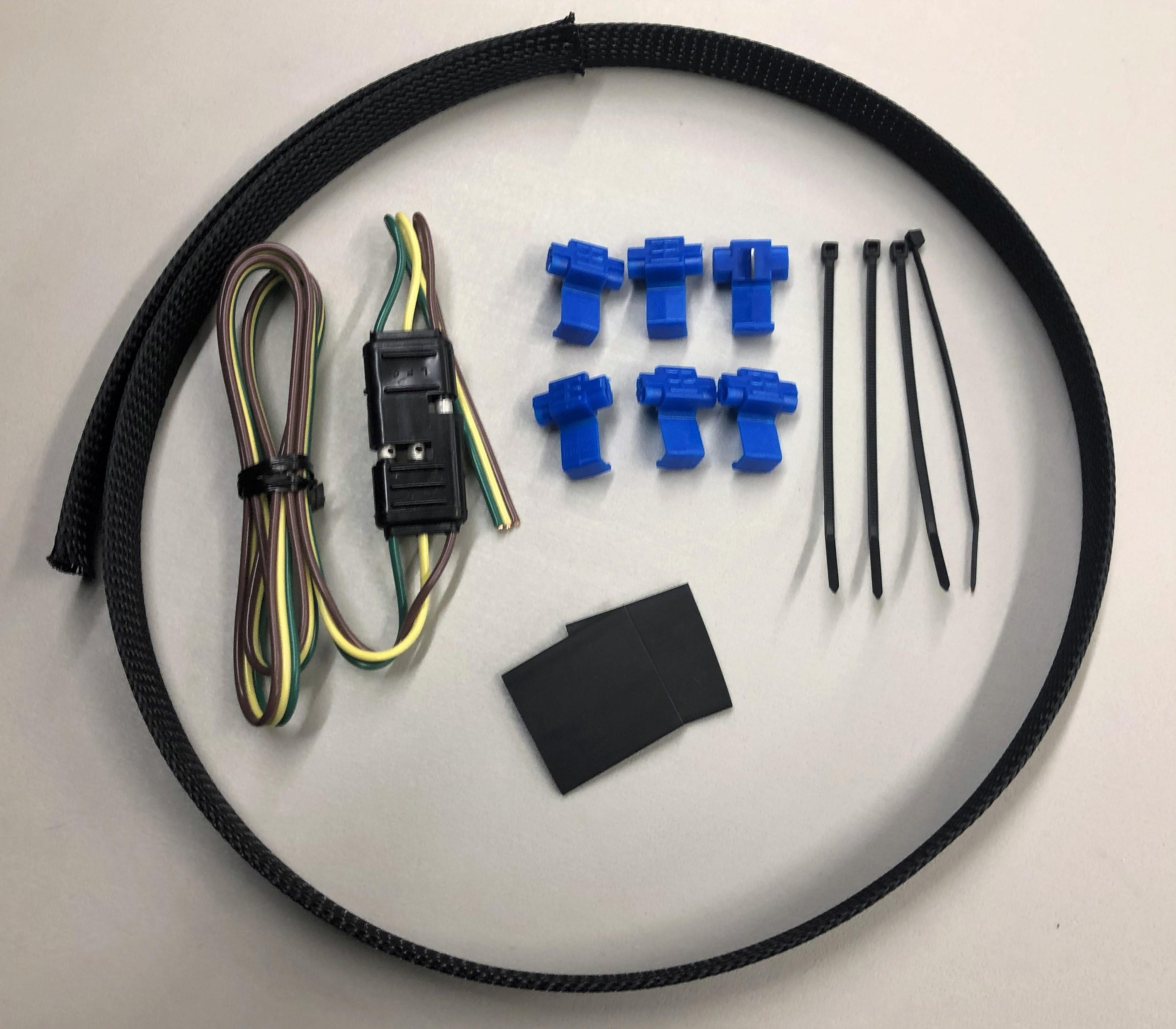 3rd break light extension kit